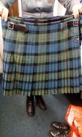 Kilt and accessories