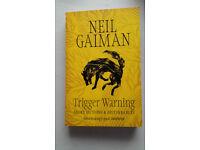 Trigger Warning by Neil Gaiman book