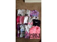 11 Girls t-shirts and tops age 8