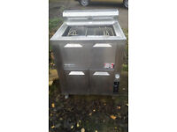 Halycyon commercial gas fryer