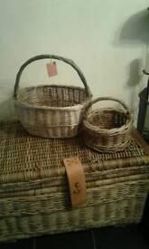 Rustic baskets