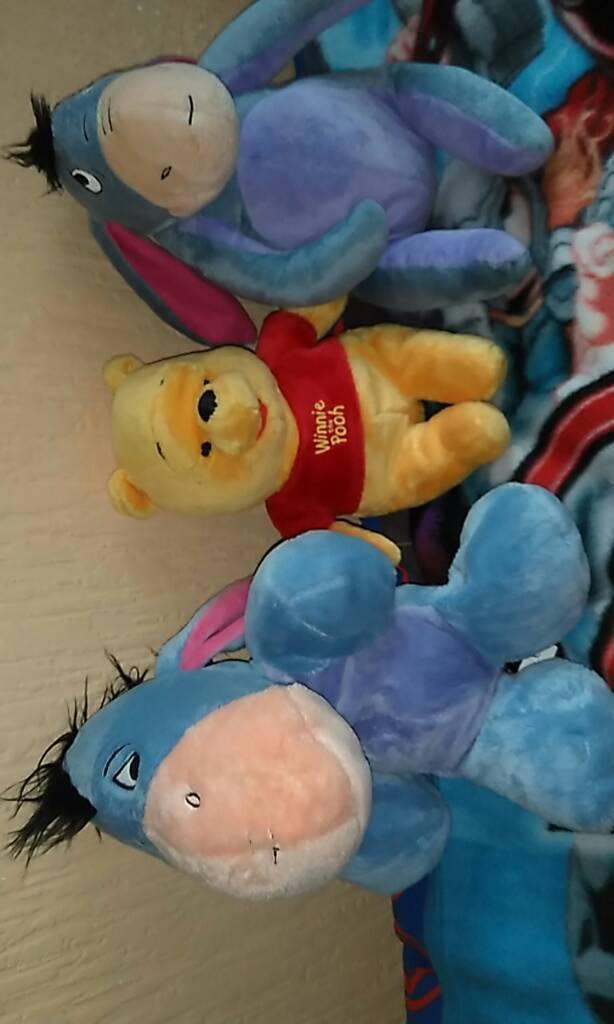 Winnie the Pooh and Eeyore bundle.
