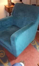 Material Arm Chair Great Condition £30