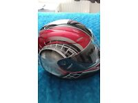 brand new,helmet in box,medium size,sticker on back can be remove,buyer collects in grimsby £30