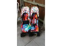 Cosatto Supa Double Pushchair Pixelate
