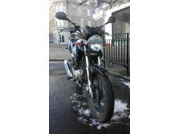 Yamaha ybr 125, 2010, well cared for, 13800 miles learner legal + topbox