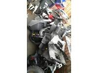 Scooter/moped panels job lot