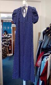 Spotty 50s dress