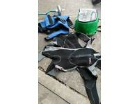 Wetsuits , 2x body glove, one full suit in two pieces