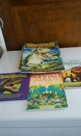 Dinosaur books.