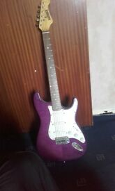 Bluerock eletric guitar