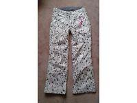 Ladies Surfanic ski pants, size 14, £40