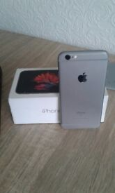 Iphone 6s space grey in good condition, on Vodafone.