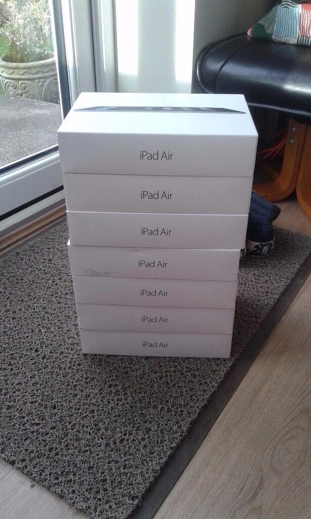 iPad and iPad Air boxes