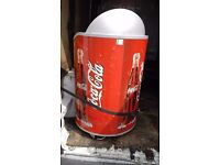 Rare COCA COLA Electric Display Cooler...Made in Denmark...Shop or Man Cave !!!!