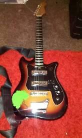 Vintage Tiesco kay electric guitar
