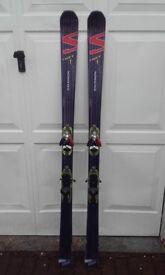 Salomon Hot Chili Scrambler Skis 182 cm
