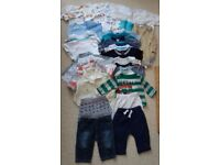 Huge bundle of baby boy clothes 3-6 months