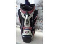 wilson staff golf bag and benross v10 max driver