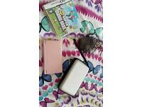 Nintendo DS Lite and accessories