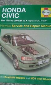 Honda civic Haynes manual