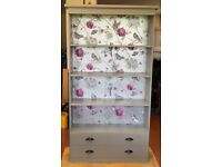 Bookcase hand painted Grey