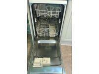 Hotpoint Aquarious slim line dishwasher
