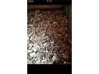 Seasoned split Logs
