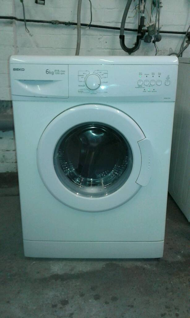 6kg beko washing machine good working older £60