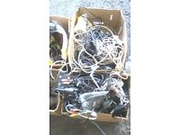JOBLOT OF ELECTRICAL CABLES AND POWER LEADS AVAILABLE FOR SALE
