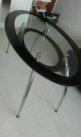 GLASS TABLE AND 4 CHAIRS NEED HOME ASAP
