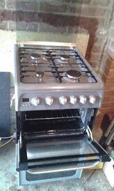 Freestanding gas oven