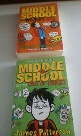 4 kid's paperbacks.