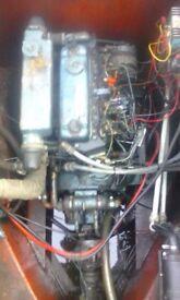 Marine diesel boat engine