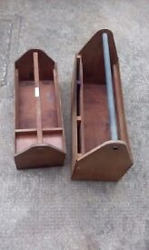 Hand made wooden Tote boxes for the old Boys