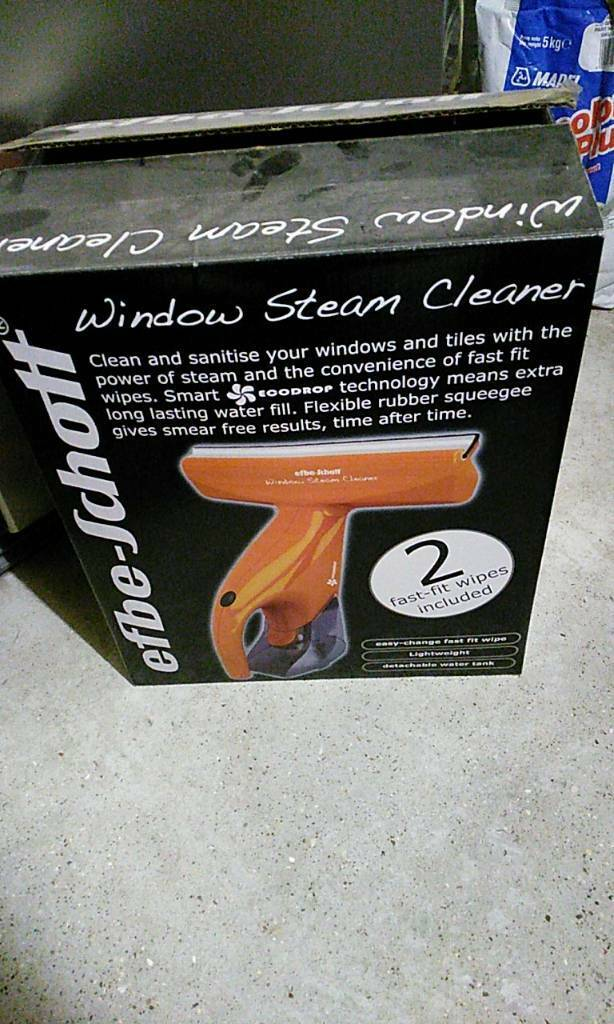 Window steam cleaner