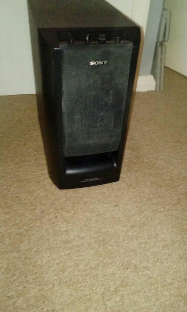 Sony high powdered deep bass woofer