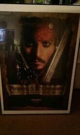 Poster framed