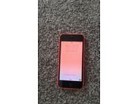 iPhone 5c in pink
