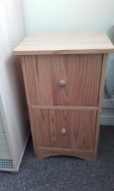 BEDSIDE TABLE, SMALL CHEST OF DRAWS