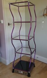 Rotating Dancing Stand/Shelving. With instructions. 1.8m x 50cm x 50cm. Can be dismantled.