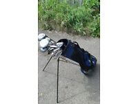 Set of Golf Clubs- Perfect for Beginner- Includes Bag