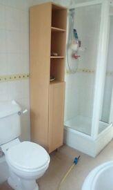 Tall bathroom storage unit