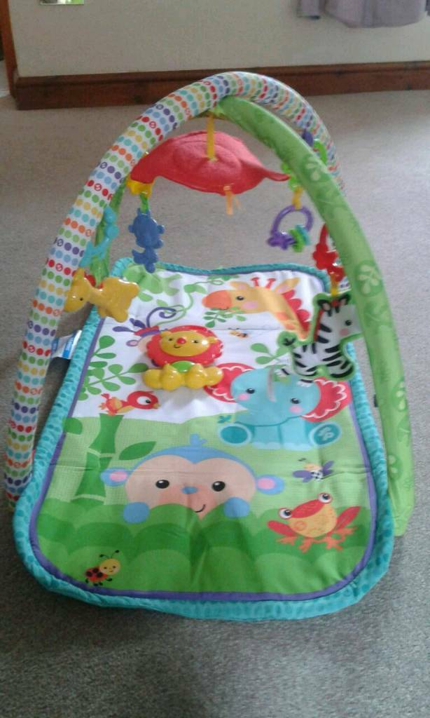 Baby musical activity mat/gym