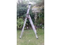 HANDY 3 IN 1 LADDER (STEP,STAIR,EXTENSION) FOR SALE. COULD DELIVER.