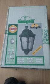Fumagalli Iesse half latern wall light