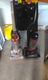 Two Vacuum Cleaners