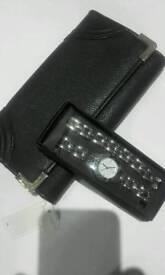 Watch And Braclet Set and Purse New