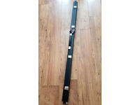 BCE WPS White Platinum Shaft Cue with Smart Extender's & Riley 4ft Hard Case