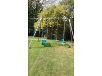 TP 4 piece swing set